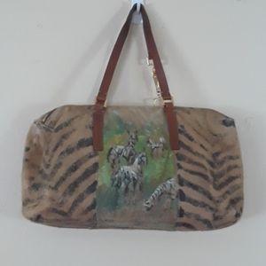 FRANCESCO BIASIA leather bag sz. M